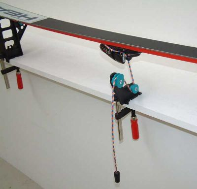 how to use ski vise